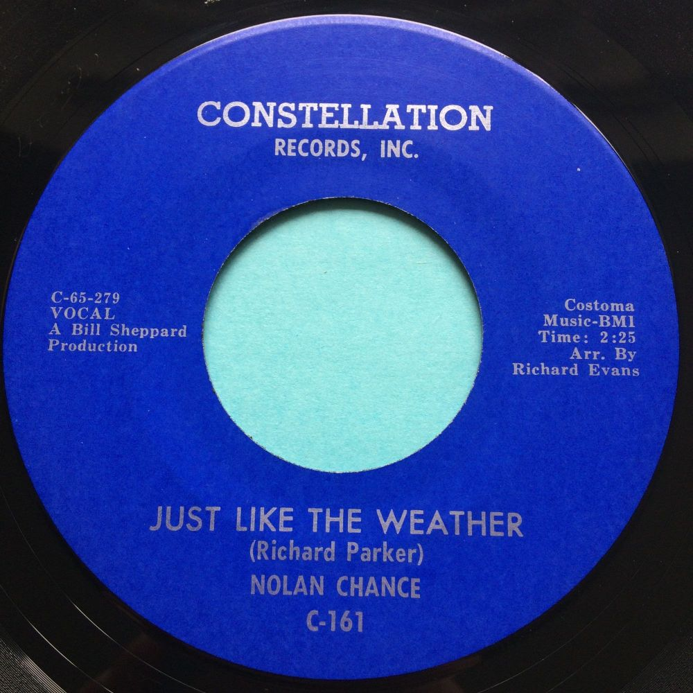 Nolan Chance - Just like the weather - Constellation - Ex