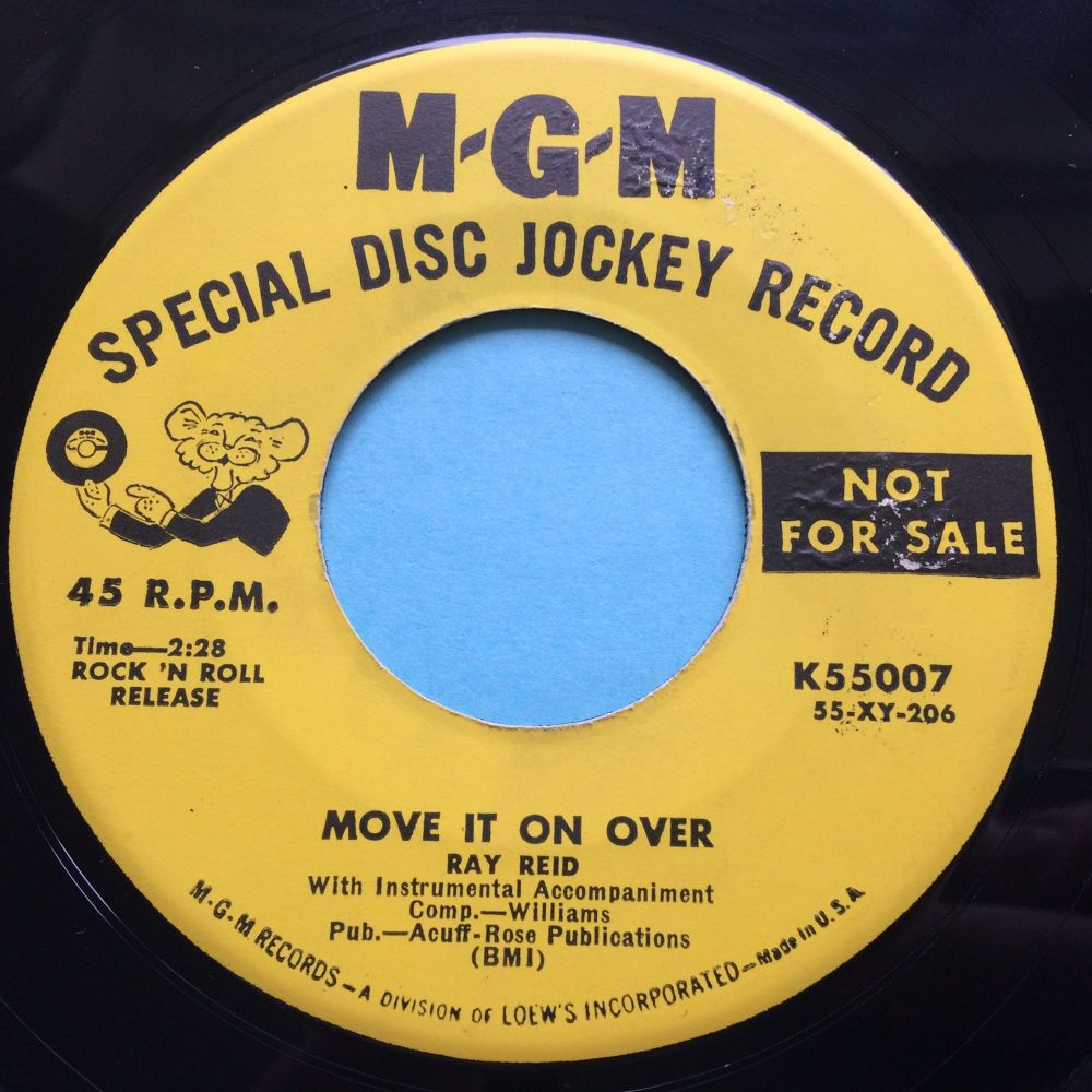 Ray Reid - Move it on over - MGM promo - Ex