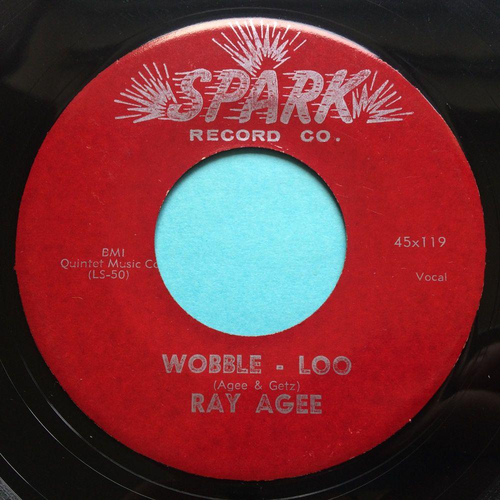 Ray Agee - Wobble - Loo - Spark - Ex