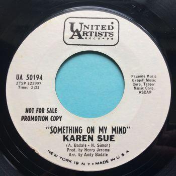 Karen Sue - Something on my mind - RCA promo - Ex