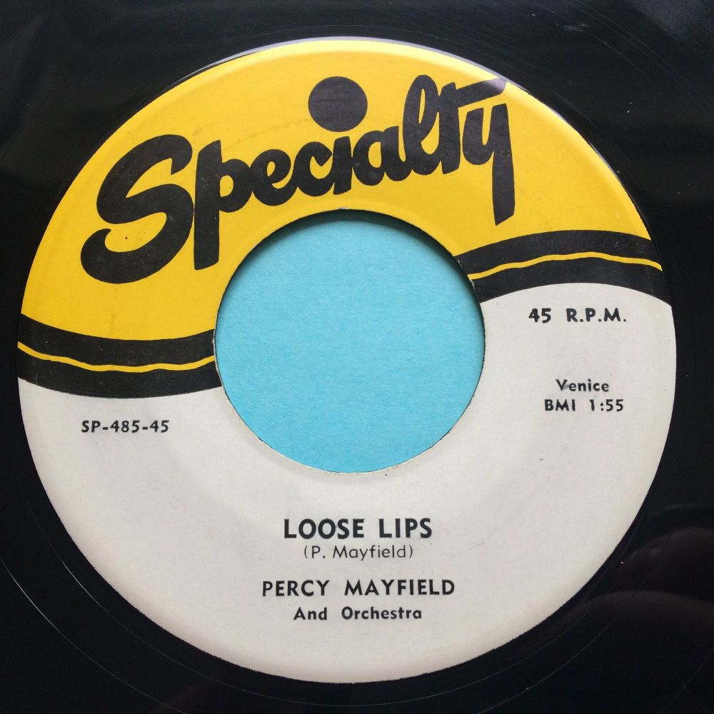 Percy Mayfield - Loose lips - Specialty - Ex-
