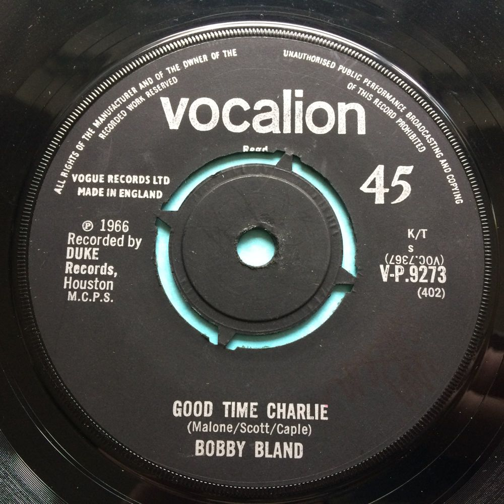 Bobby Bland - Good Time Charlie - U.K. Vocalion - Ex-