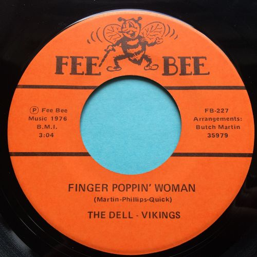 Dell-Vikings - Finger Poppin' Woman - Fee Bee - Ex