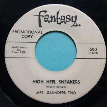 Merl Saunders Trio - High Heel Sneakers - Fantasy promo - Ex-