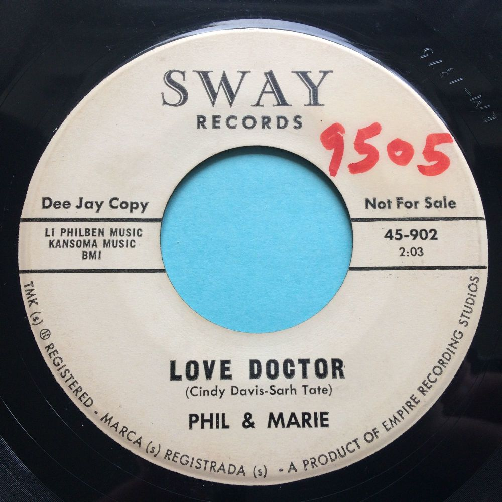 Phil & Marie - Love Doctor - Sway - Ex-