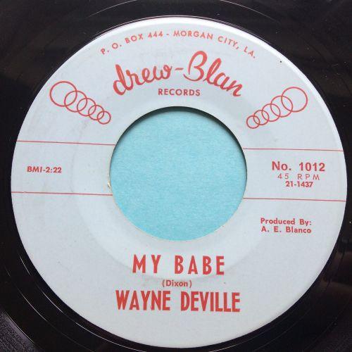 Wayne Deville - My Babe - Drew-Blan - Ex