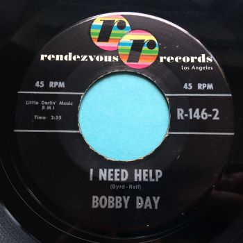 Bobby Day - I need help - Rendezvous - Ex