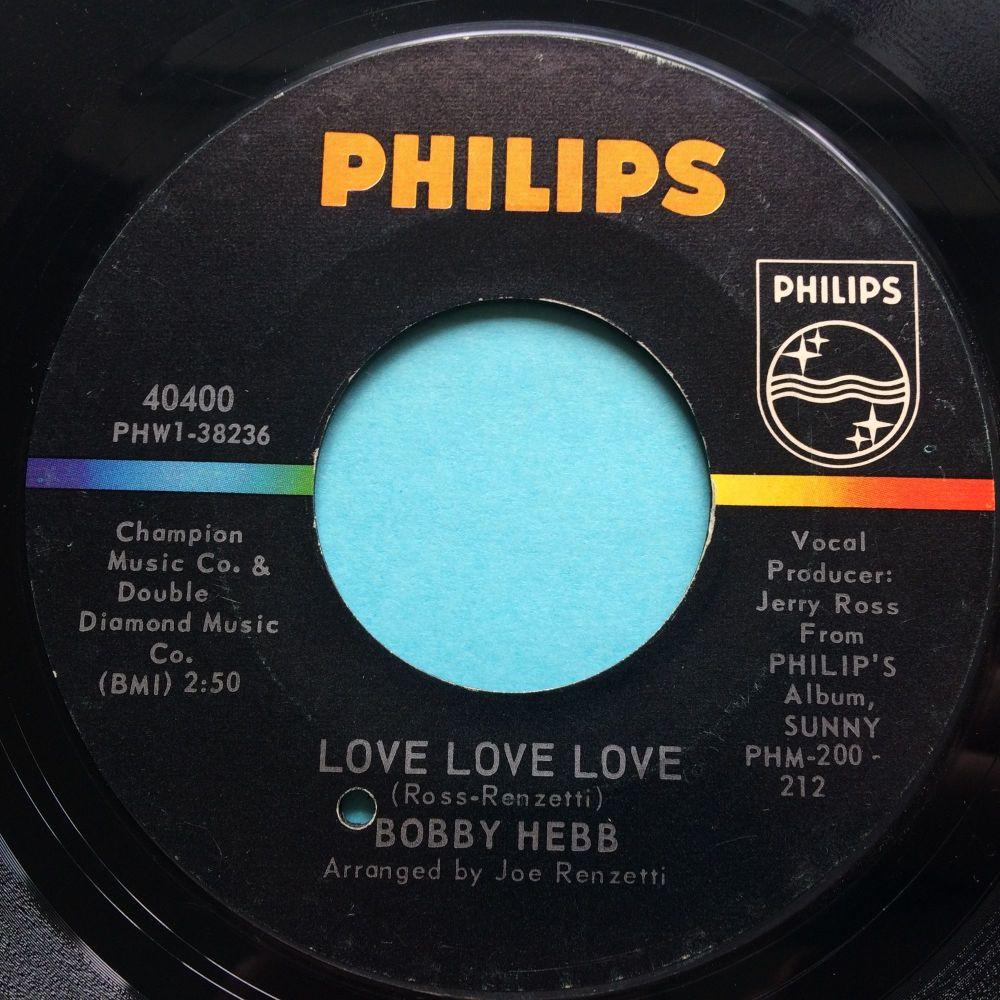 Bobby Hebb - Love, Love, Love - Philips - Ex- / VG+ flip