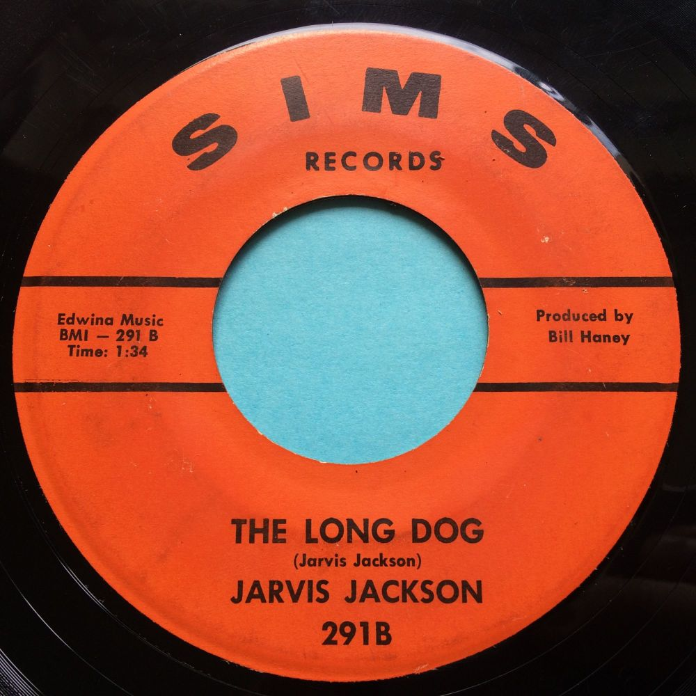 Jarvis Jackson - The Long Dog - Sims - VG+