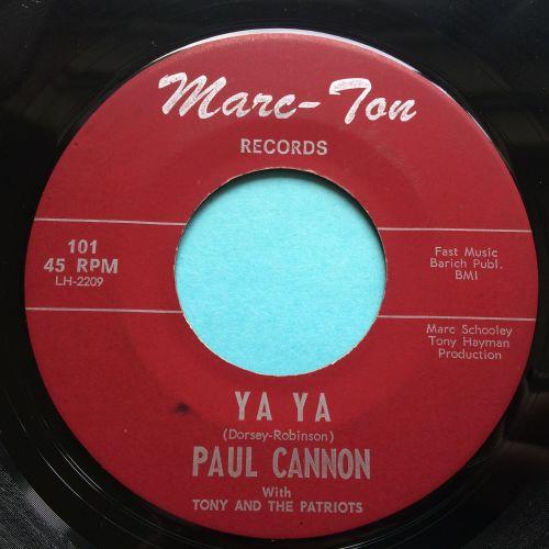 Paul Cannon - Ya Ya - Marc-Ton - Ex