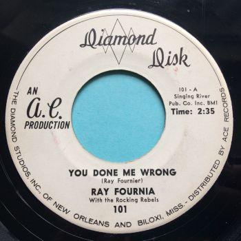 Ray Fournia - Settle down - Diamond Disk - Ex-