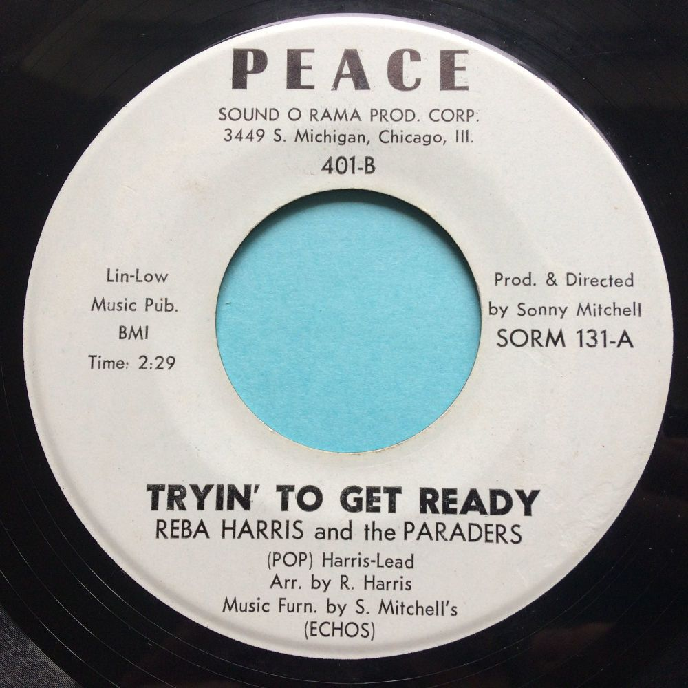 Reba Harris and the Paraders - Tryin' to get ready - Peace - Ex