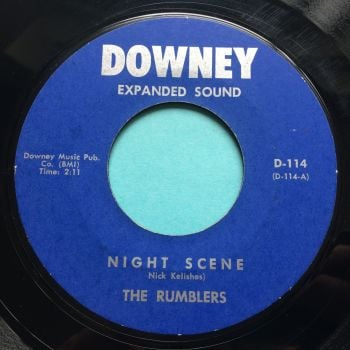 Rumblers - Night Scene b/w Hi Octane - Downey - Ex