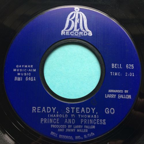Prince and Princess - Ready, Steady, Go - Bell - Ex