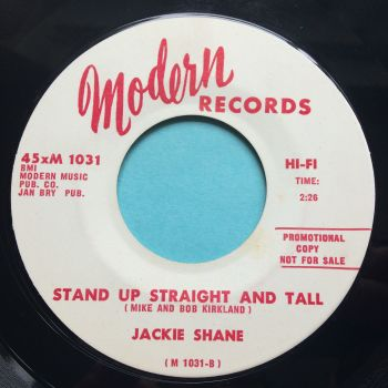 Jackie Shane - Stand up straight and tall b/w You are my sunshine - Modern promo - Ex
