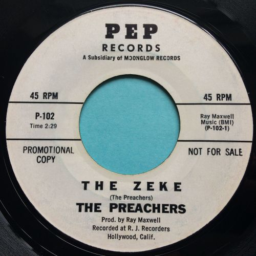 Preachers - The Zeke - Pep promo - VG+