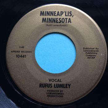 Rufus Lumley - Minneap'lis Minnesota - Afford - Ex-