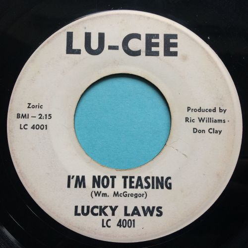 Lucky Laws - I'm not teasing - Lu-Cee promo - VG+