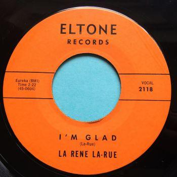 La Rene La-Rue - I'm glad - Eltone - Ex