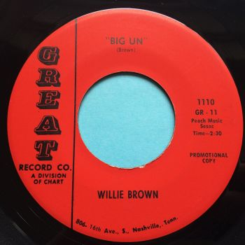 Willie Brown - Big Un - Great - Ex