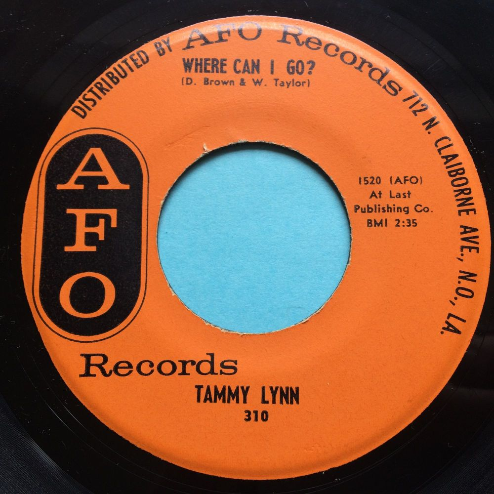 Tammy Lynn - Where can I go - AFO - Ex-