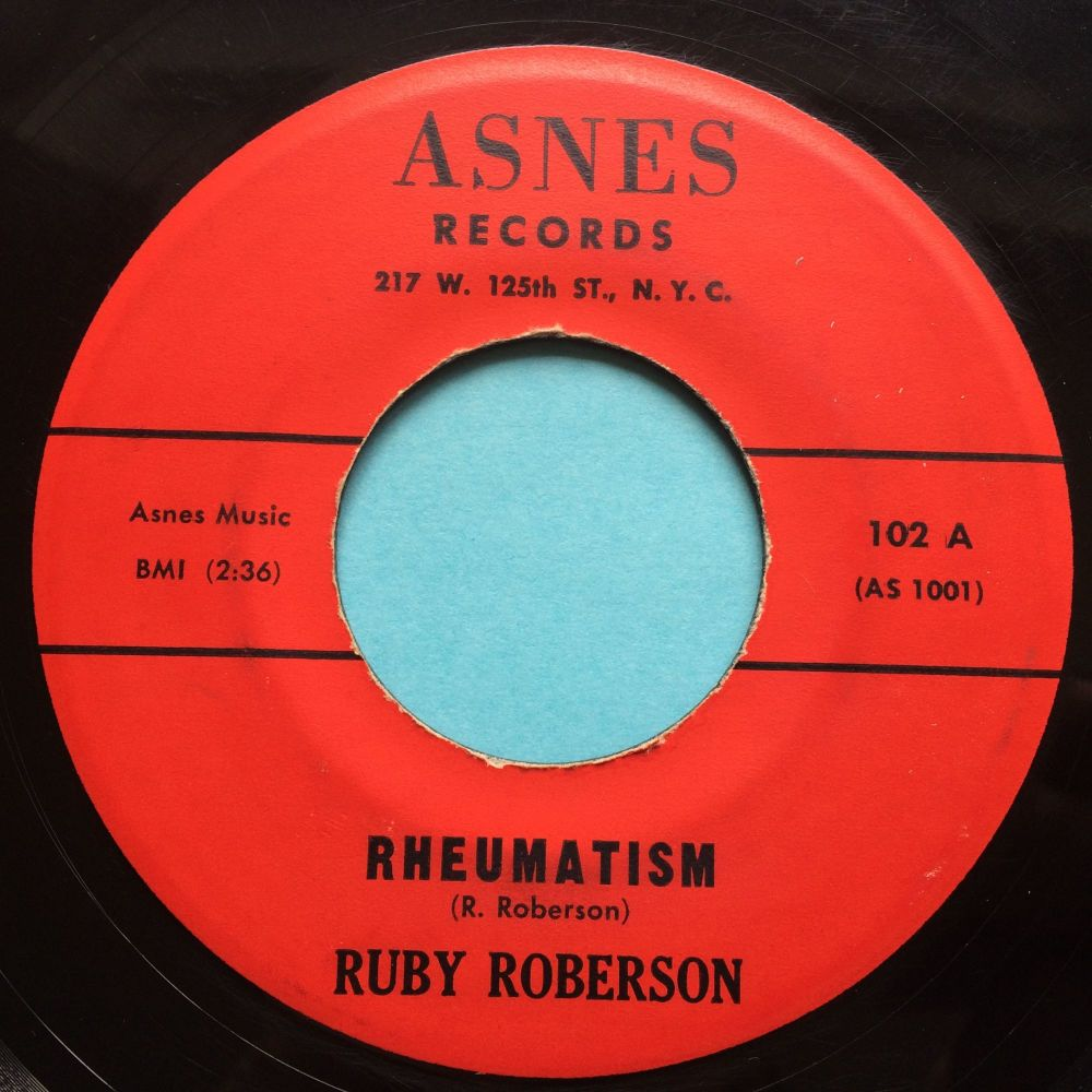 Ruby Roberson - Rheumatism - Asnes - Ex-