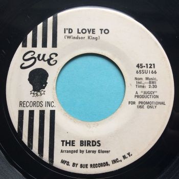 Birds - I'd love to - Sue promo - VG+
