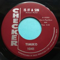 Timiko - Is it a sin - Checker - Ex