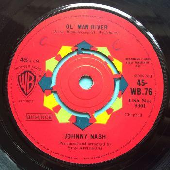 Johnny Nash - Ol' Man River - UK WB - Ex (swol)