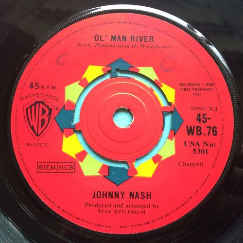 Johnny Nash - Ol' Man River - UK WB - Ex (swol)