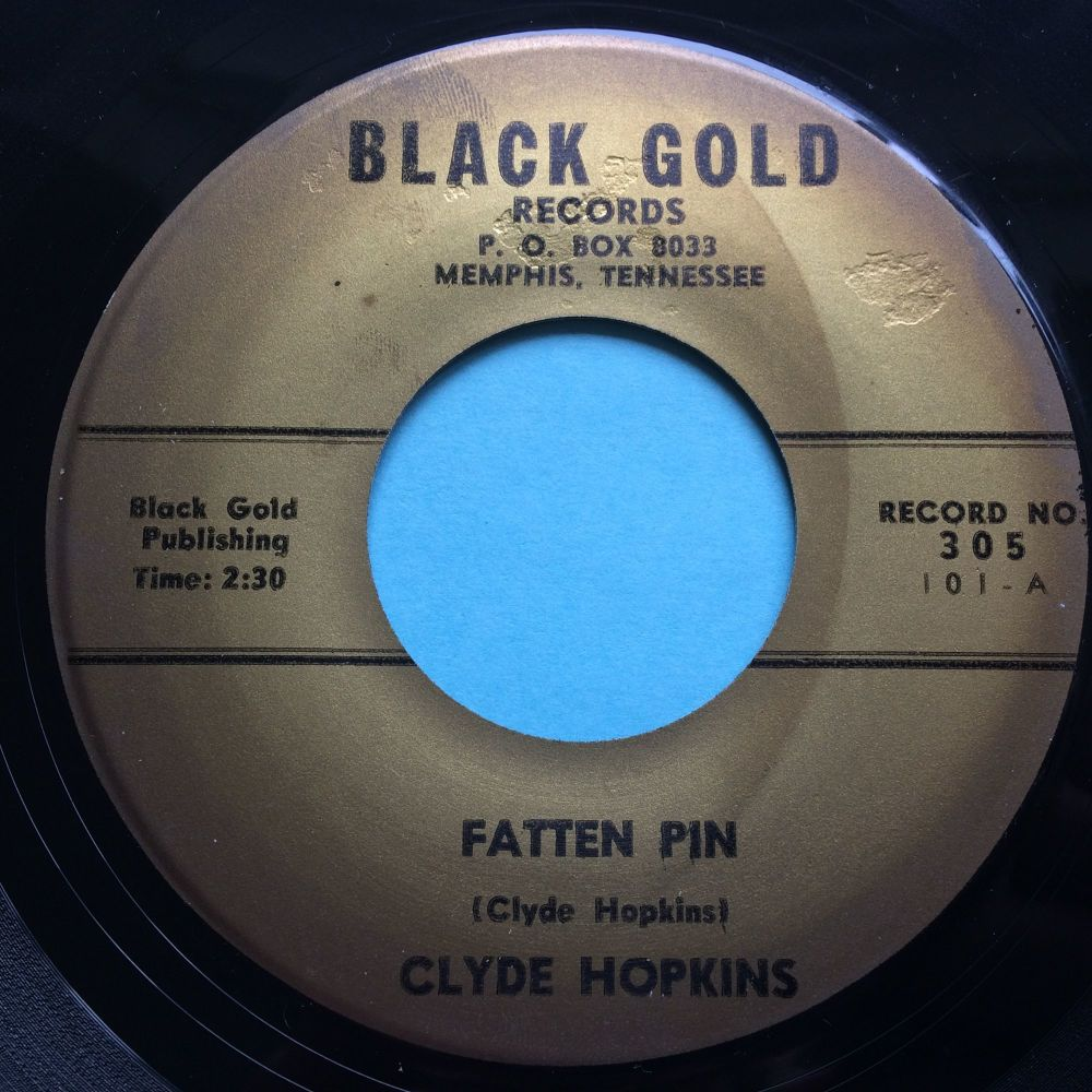 Clyde Hopkins - Fatten Pin - Black Gold - Ex