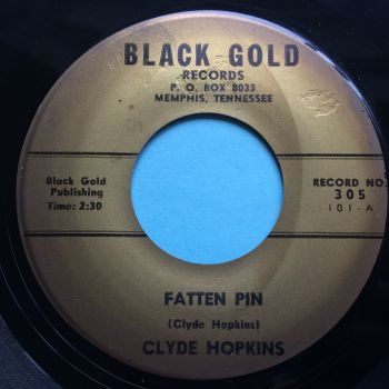 Clyde Hopkins - Fatten Pin - Black Gold - Ex
