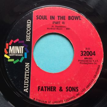Father & Sons - Soul in the Bowl (Pt2) - Minit promo - Ex-