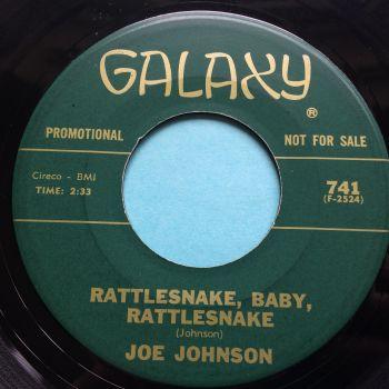 Joe Johnson - Rattlesnake, Baby, Rattlesnake - Galaxy promo - Ex