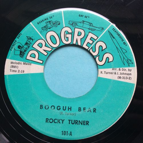 Rocky Turner - Booguh Bear - Progress - VG+
