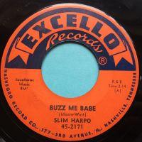 Slim Harpo - Buzz me babe - Excello - VG+