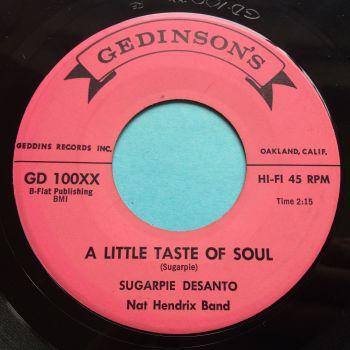 SugarPie DeSanto - A little taste of soul - Gedinsons - Ex