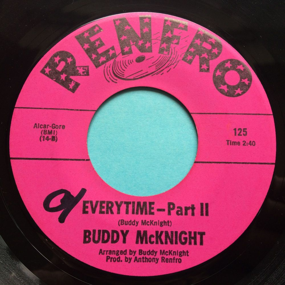 Buddy McKnight - Everytime Pt 2 - Renfro - Ex (swol)