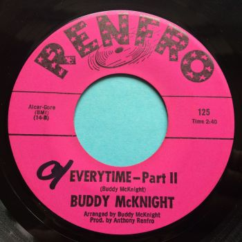 Buddy McKnight - Everytime Pt 2 - Renfro - Ex (swol)