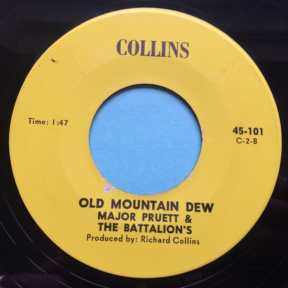 Major Pruett & the Battalions - Old Mountain Dew - Collins - Ex