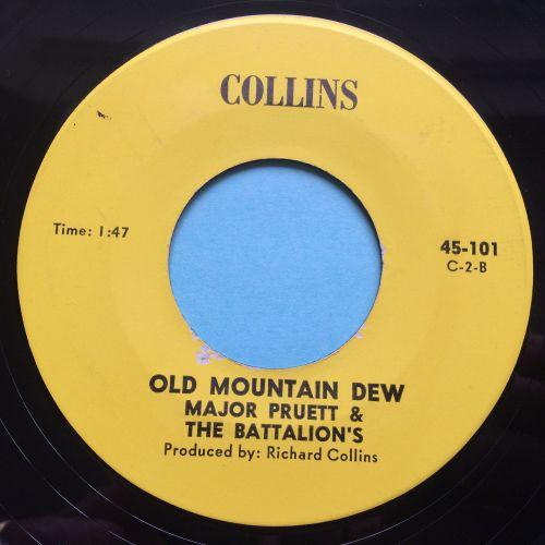 Major Pruett & the Battalions - Mountain Dew - Collins - Ex