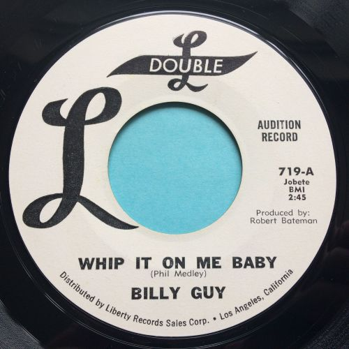 Billy Guy - Whip it on me baby - Double L promo - Ex