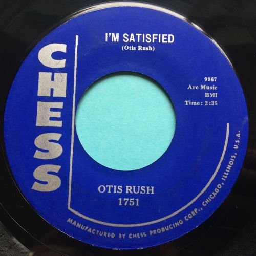 Otis Rush - I'm satisfied - Chess - Ex-