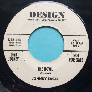 Johnny Eager - The Howl - Design promo - Ex-