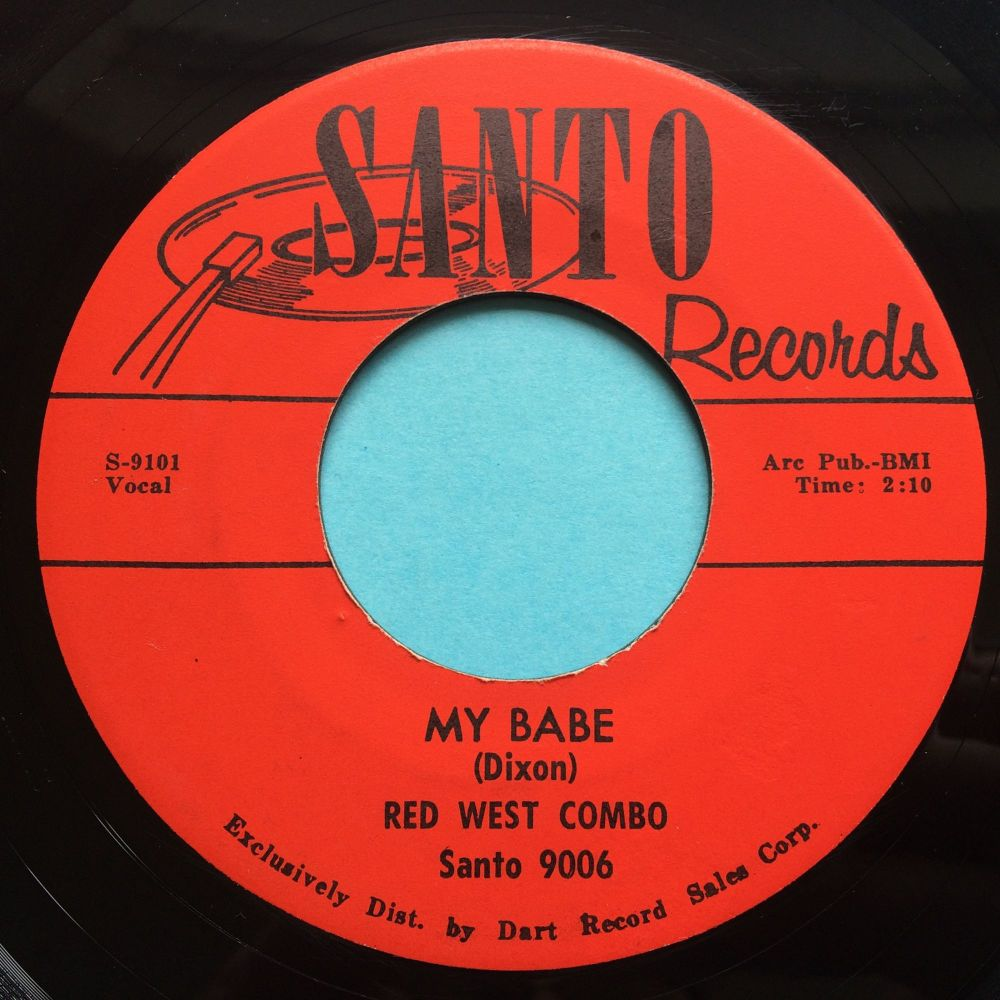 Red West Combo - My Babe - Santo - Ex