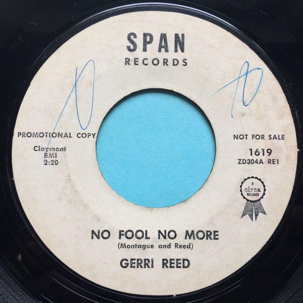 Gerri Reid - No fool no more - Span promo - VG+