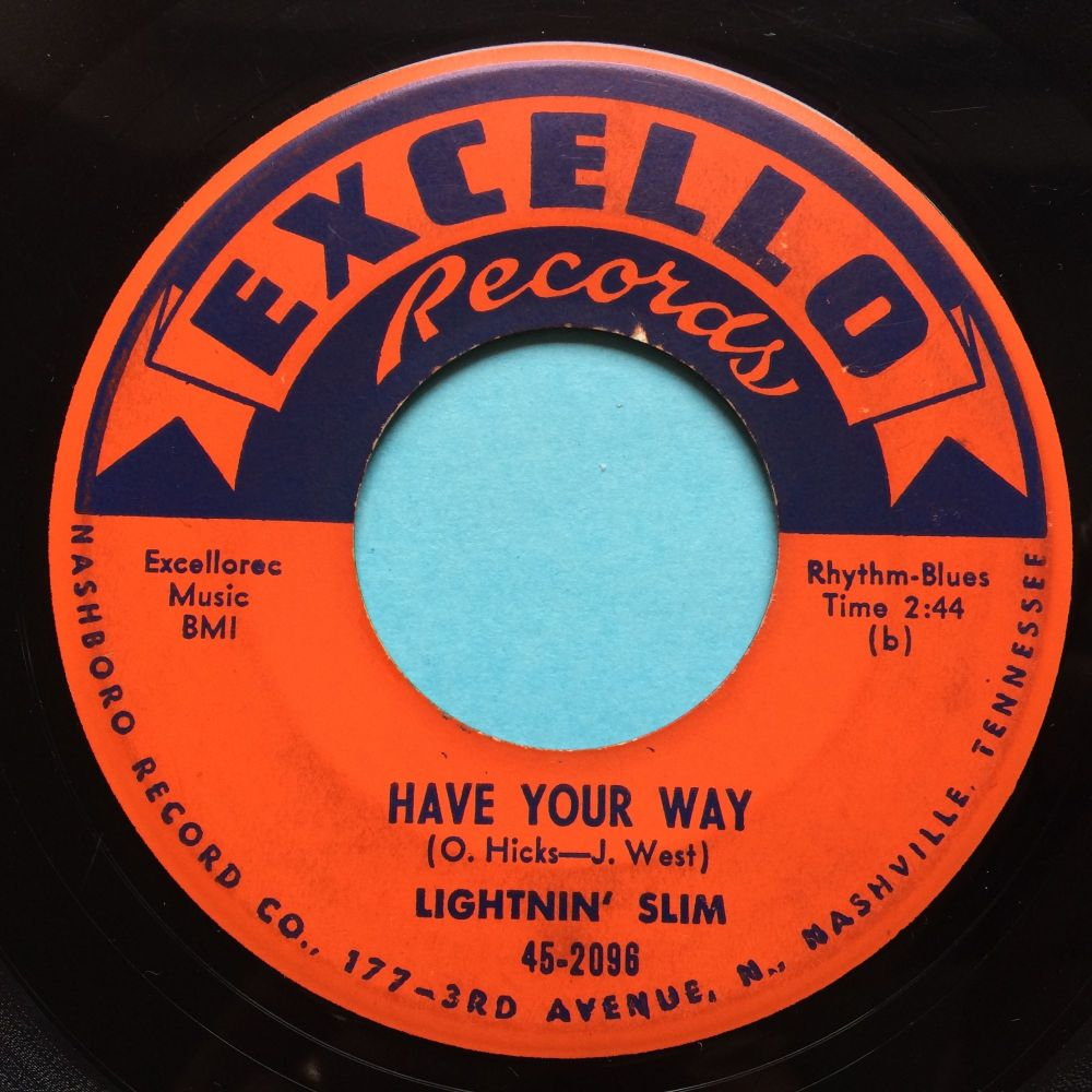 Lightnin' Slim - Have your way - Excello - VG+