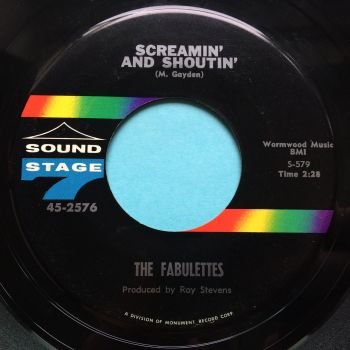 Fabulettes - Screamin' and shoutin' - Sound Stage 7 - Ex