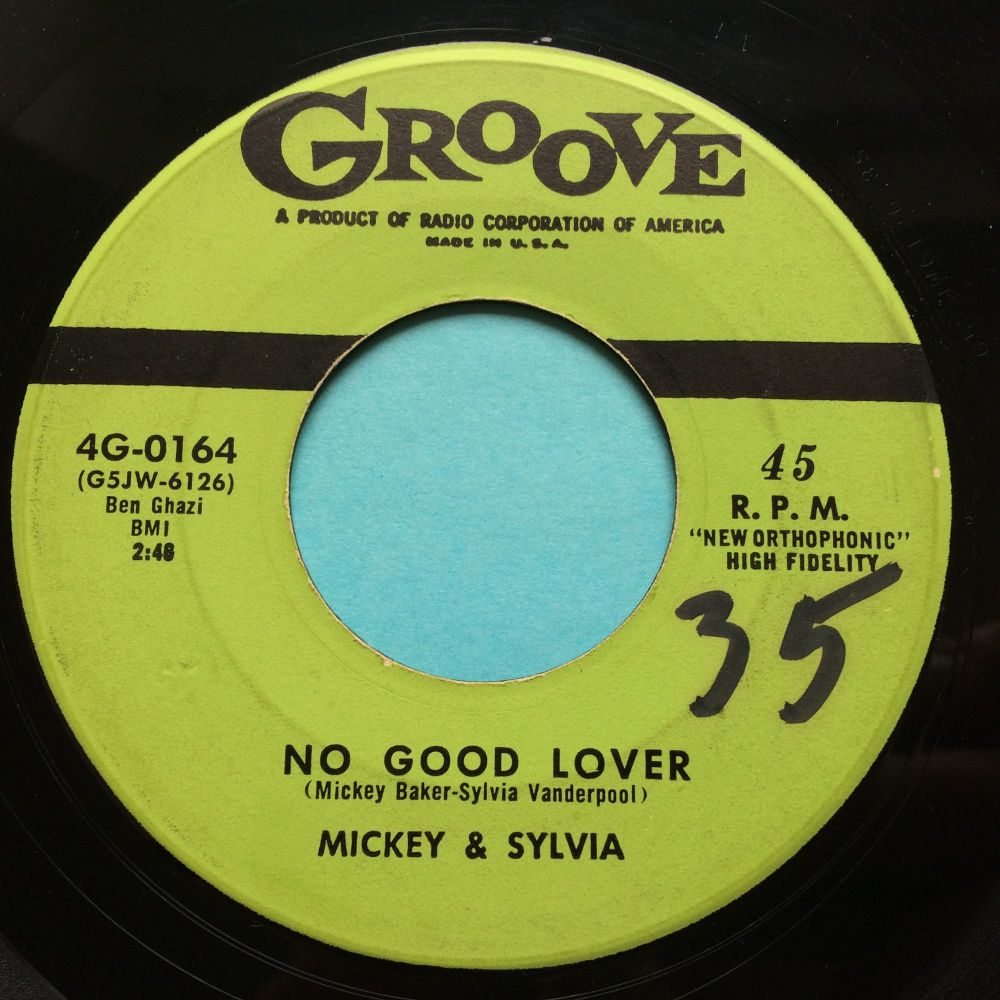Mickey & Sylvia - No good lover - Groove - Ex-