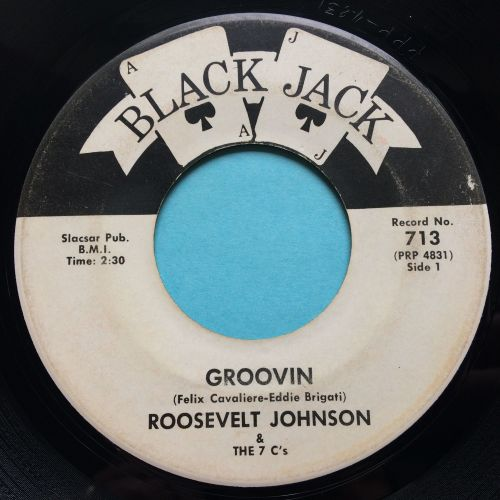 Roosevelt Johnson - Groovin - Blackjack - Ex-
